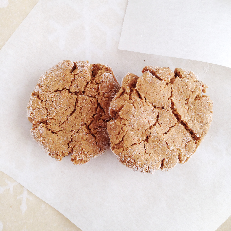 Ginger Molasses Crinkle Cookies   pumpkinandpeanutbutter